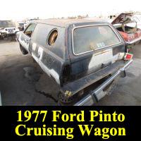 Junkyard 1977 Ford Pinto Cruising Wagon