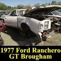 Junkyard 1977 Ford Ranchero GT Brougham