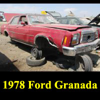 Junkyard 1978 Ford Granada