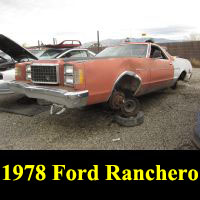 Junkyard 1978 Ford Ranchero