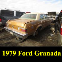 Junkyard 1979 Ford Granada