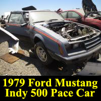 Junkyard 1979 Ford Mustang