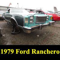 Junkyard 1979 Ford Ranchero