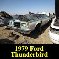 Junkyard 1979 Ford Thunderbird