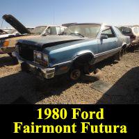 Junkyard 1980 Ford Fairmont Futura