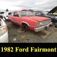 Junkyard 1982 Ford Fairmont Futura