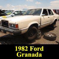 Junkyard 1982 Ford Granada L