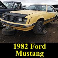 Junkyard 1982 Ford Mustang
