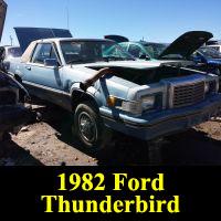 Junkyard 1982 Ford Thunderbird Town Landau