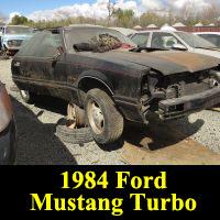 Junkyard 1984 Ford Mustang GT Turbo