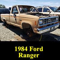 Junkyard 1984 Ford Ranger Explorer
