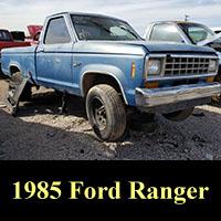 Junkyard 1985 Ford Ranger XL