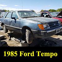Junkyard 1985 Ford Tempo