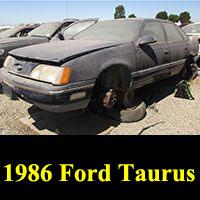 Junkyard 1986 Ford Taurus