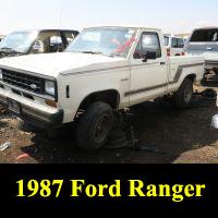 Junkyard 1987 Ford Ragner