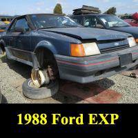Junkyard 1988 Ford Escort EXP