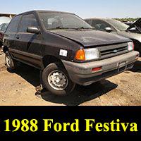 Junkyard 1988 Ford Festiva