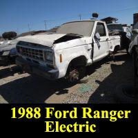 Junkyard Electric 1988 Ford Ranger