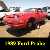 Junkyard 1989 Ford Probe