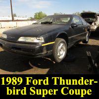 Junkyard 1989 Ford Thunderbird Super Coupe