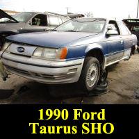 Junkyard 1990 Ford Taurus SHO
