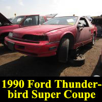 Junkyard 1990 Ford Thunderbird Super Coupe