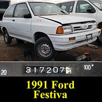 Junkyard 1991 Ford Festiva