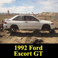 Junkyard 1992 Ford Escort GT