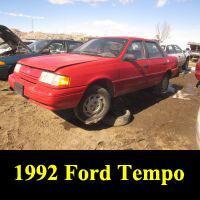 Junkyard 1992 Ford Tempo