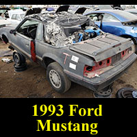 Junkyard 1993 Ford Mustang Convertible