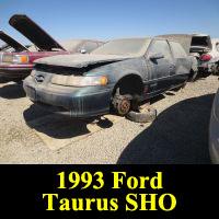 Junkyard 1993 Ford Taurus SHO