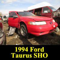 Junkyard 1994 Ford Taurus SHO