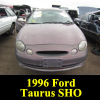 Junkyard 1996 Ford Taurus SHO