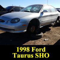Junkyard 1998 Ford Taurus SHO