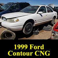 1999 Ford Contour CNG Bi-Fuel