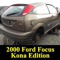 Junkyard 2000 Ford Focus Kona Edition