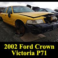 Junkyard 2002 Ford Crown Victoria P71
