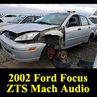 Junkyard 2002 Ford Focus Mach Sound Edition