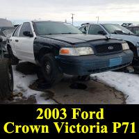 Junkyard 2003 Ford Crwon Victoria P71
