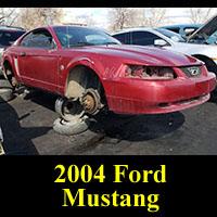 Junkyard 2004 Ford Mustang