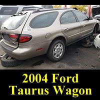 Junkyard 2004 Ford Taurus Wagon