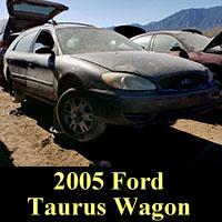Junkyard 2005 Ford Taurus Station Wagon