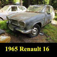 Junkyard 1965 Renault 16