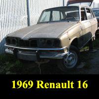 Junkyard 1969 Renault 16
