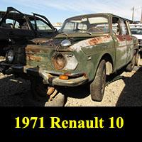Junkyard 1971 Renault R10