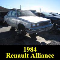 Junkyard 1984 Renault Alliance