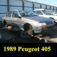 Junkyard 1989 Peugeot 405