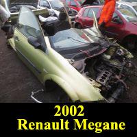 Junkyard 2002 Renault Megane