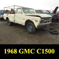 Junkyard 1968 GMC C1500 Pickup