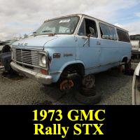 Junkyard 1973 GMC Rally STX Van